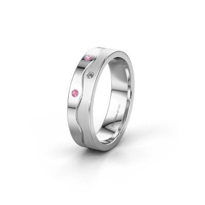 Ehering WH0701L15APM 925 Silber Pink Saphir ±5x1.7 mm