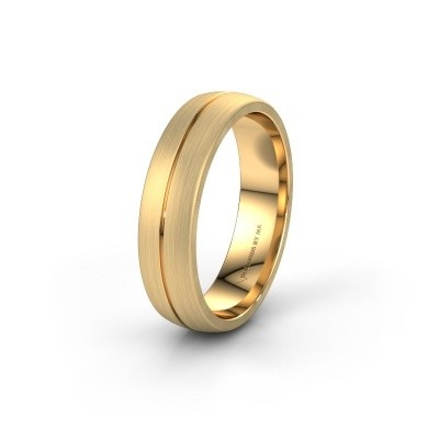 Wedding ring WH0162M25A 585 gold ±5,5x1.7 mm