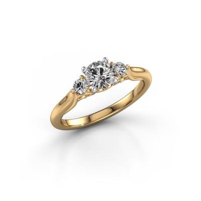 Foto van Verlovingsring Laurian RND 585 goud lab-grown diamant 0.70 crt