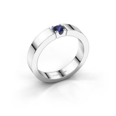 Foto van Belofte ring Dana 1 925 zilver saffier 3.7 mm