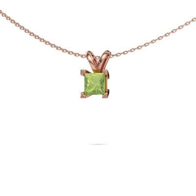 Picture of Pendant Ariane 375 rose gold peridot 5 mm