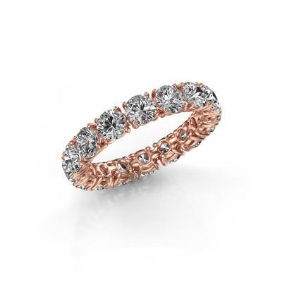 Foto van Aanschuifring Vivienne 4.0 375 rosé goud lab-grown diamant 4.00 crt