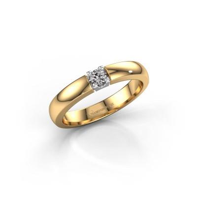 Bild von Verlobungsring Rianne 1 585 Gold Diamant 0.10 crt
