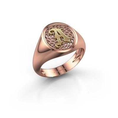 Foto van Heren ring Alexander 585 rosé goud