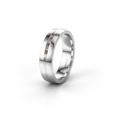 Alliance WH0132L25B 585 or blanc diamant brun ±5x2 mm