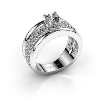 Foto van Ring Alicia 950 platina lab-grown diamant 1.31 crt