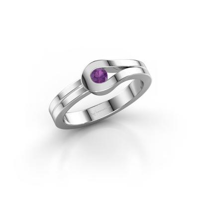 Ring Kiki 925 Silber Amethyst 3 mm