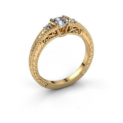 Picture of Engagement ring Anamaria 375 gold diamond 0.59 crt