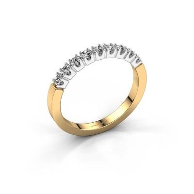 Foto van Verlovingsring Dana 9 585 goud diamant 0.27 crt