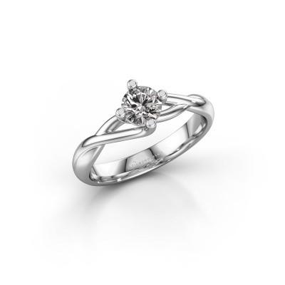 Foto van Ring Paulien 925 zilver diamant 0.50 crt