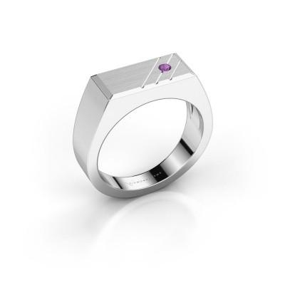 Foto van Heren ring Dree 5 925 zilver amethist 2.4 mm