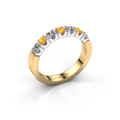 Picture of Engagement ring Dana 7 585 gold citrin 2.7 mm