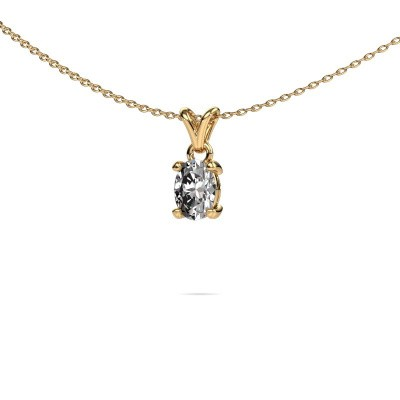 Foto van Ketting Lucy 1 375 goud lab-grown diamant 0.80 crt