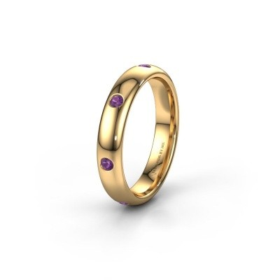 Ehering WH0105L34BP 375 Gold Amethyst ±4x2 mm