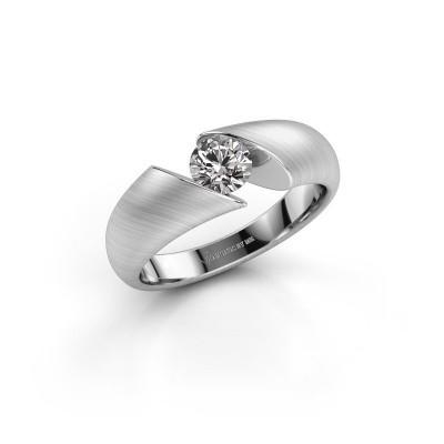 Foto van Ring Hojalien 1 925 zilver diamant 0.50 crt