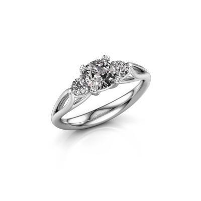 Verlobungsring Amie cus 925 Silber Diamant 1.20 crt