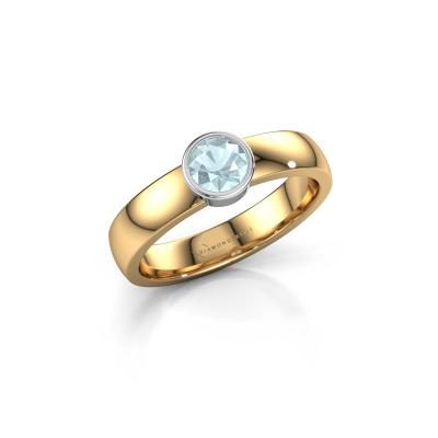 Ring Ise 1 585 gold aquamarine 4.7 mm