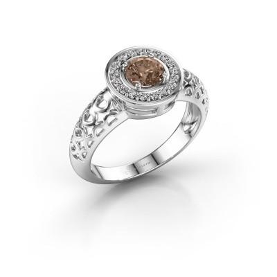 Bild von Ring Katalina 750 Weissgold Braun Diamant 0.62 crt
