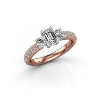Foto van Verlovingsring Marielle EME 585 rosé goud lab-grown diamant 1.37 crt