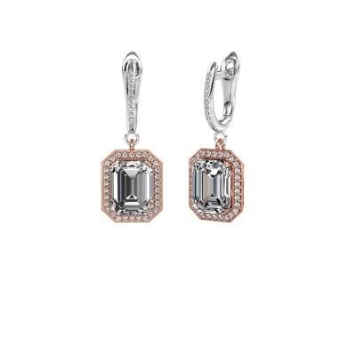 Foto van Oorhangers Dodie 2 585 rosé goud lab-grown diamant 5.345 crt