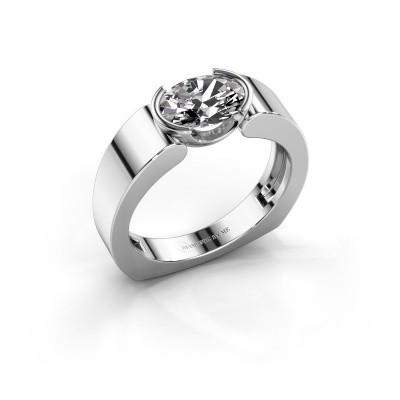 Ring Tonya 925 zilver diamant 1.15 crt