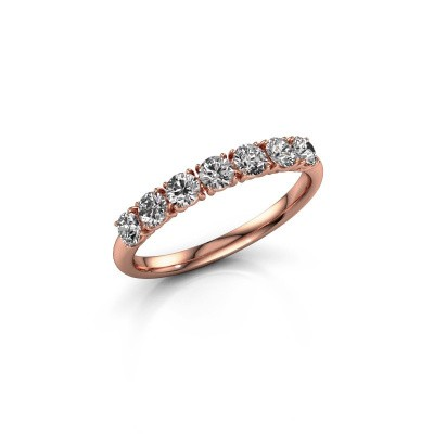 Foto van Ring Vivienne Half 375 rosé goud lab-grown diamant 0.665 crt