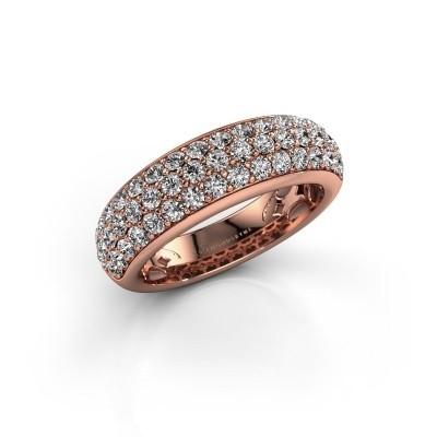 Foto van Ring Emely 8 375 rosé goud zirkonia 1.9 mm
