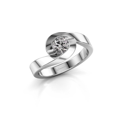 Picture of Engagement ring Sheryl 950 platinum diamond 0.50 crt
