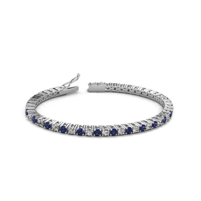 Picture of Tennis bracelet Karin 3.5 mm 585 white gold diamond 4.32 crt