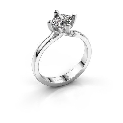 Verlobungsring Dewi Square 925 Silber Diamant 1.00 crt