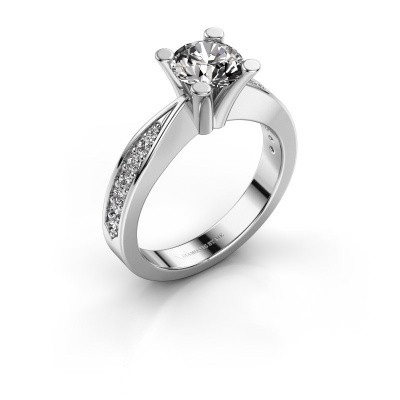 Promise ring Ichelle 2 925 zilver diamant 1.256 crt