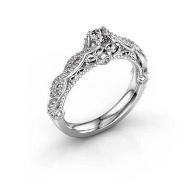 Foto van Verlovingsring Chantelle 950 platina diamant 0.606 crt