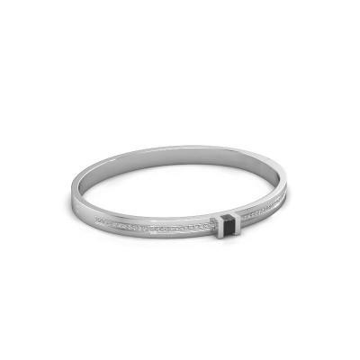 Foto van Armband Desire 585 witgoud zwarte diamant 0.87 crt
