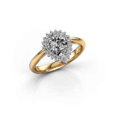 Picture of Engagement ring Tilly per 1 585 gold diamond 0.95 crt