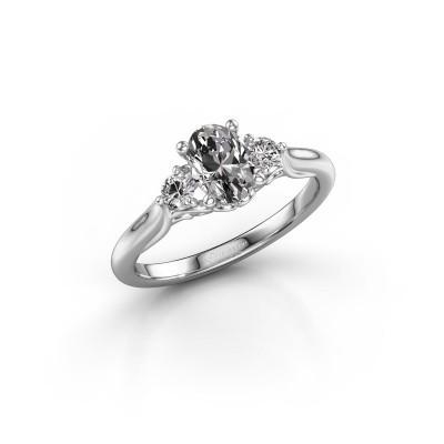 Foto van Verlovingsring Laurian OVL 950 platina lab-grown diamant 1.00 crt