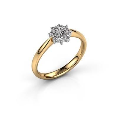 Foto van Verlovingsring Carolyn 1 585 goud lab-grown diamant 0.10 crt