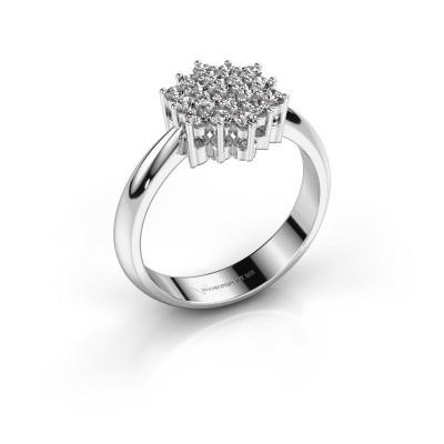 Ring Bente 925 zilver diamant 0.532 crt