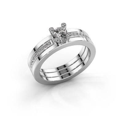 Foto van Ring Alisha 950 platina lab-grown diamant 0.36 crt