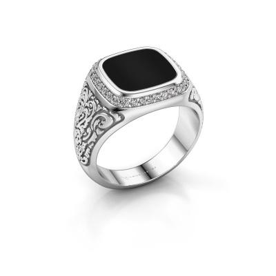 Foto van Heren ring Jesse 3 925 zilver onyx 10x10 mm