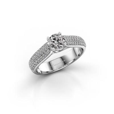Foto van Verlovingsring Leoness 585 witgoud lab-grown diamant 0.50 crt