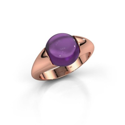 Picture of Ring Robine 375 rose gold amethyst 10 mm