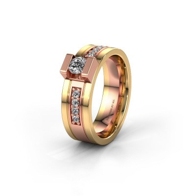 Ehering WH2092L16BP 585 Roségold Diamant ±6,5x2 mm