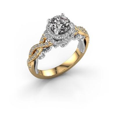Verlobungsring Leora 585 Gold Diamant 1.438 crt