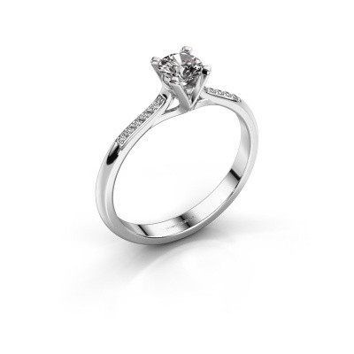 Bild von Verlobungsring Isa 2 585 Weissgold Diamant 0.35 crt