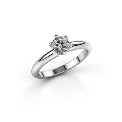 Picture of Engagement ring Tiffy 1 950 platinum diamond 0.50 crt