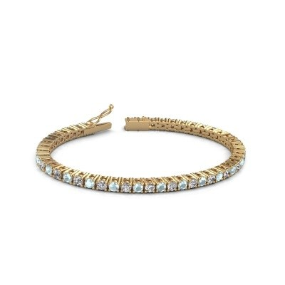 Tennisarmband Jenny 375 goud lab-grown diamant 4.32 crt