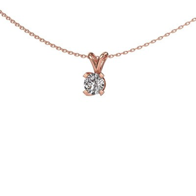 Foto van Hanger Eva 375 rosé goud lab-grown diamant 0.50 crt