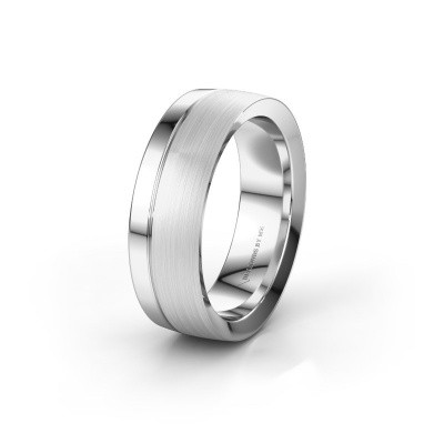 Wedding ring WH2224M26C8 950 platinum ±7x2.2 mm