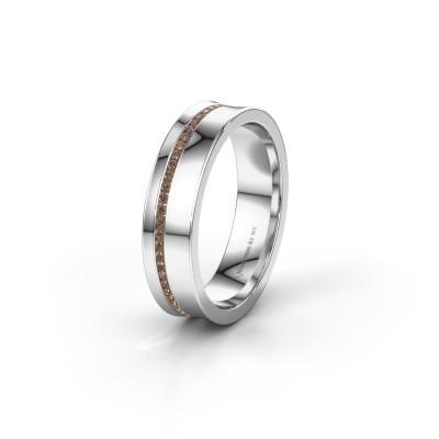Ehering WH6090L55A 950 Platin Braun Diamant ±5x1.7 mm