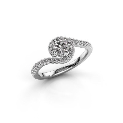 Bild von Verlobungsring Elli 925 Silber Lab-grown Diamant 0.752 crt